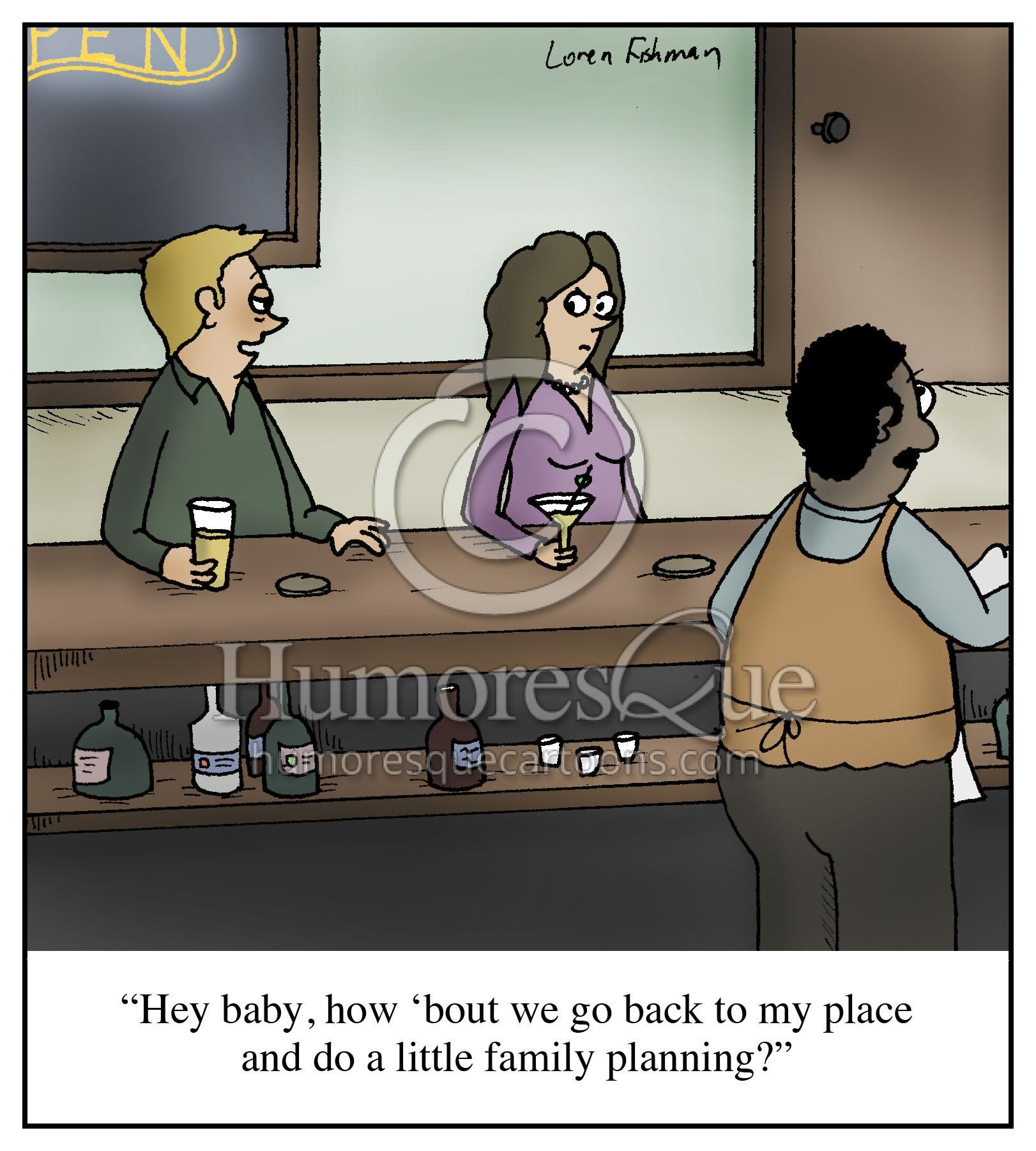 family planning euphemism dating cartoon