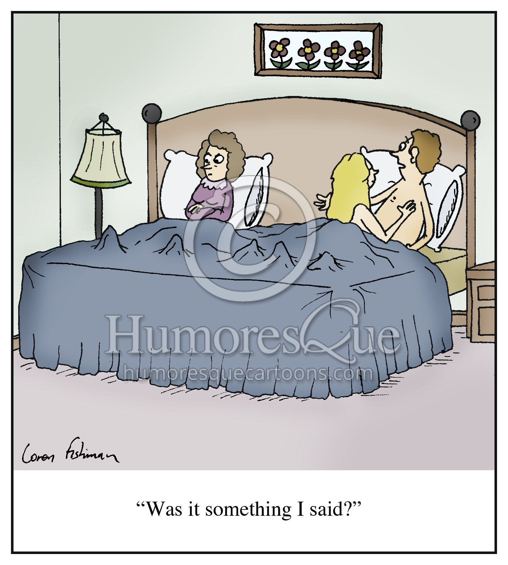 adultery cheating husband something i said cartoon