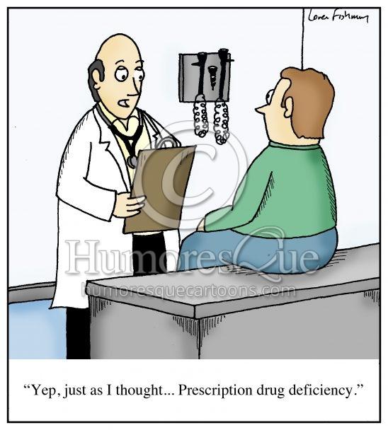 prescription drug deficiency cartoon