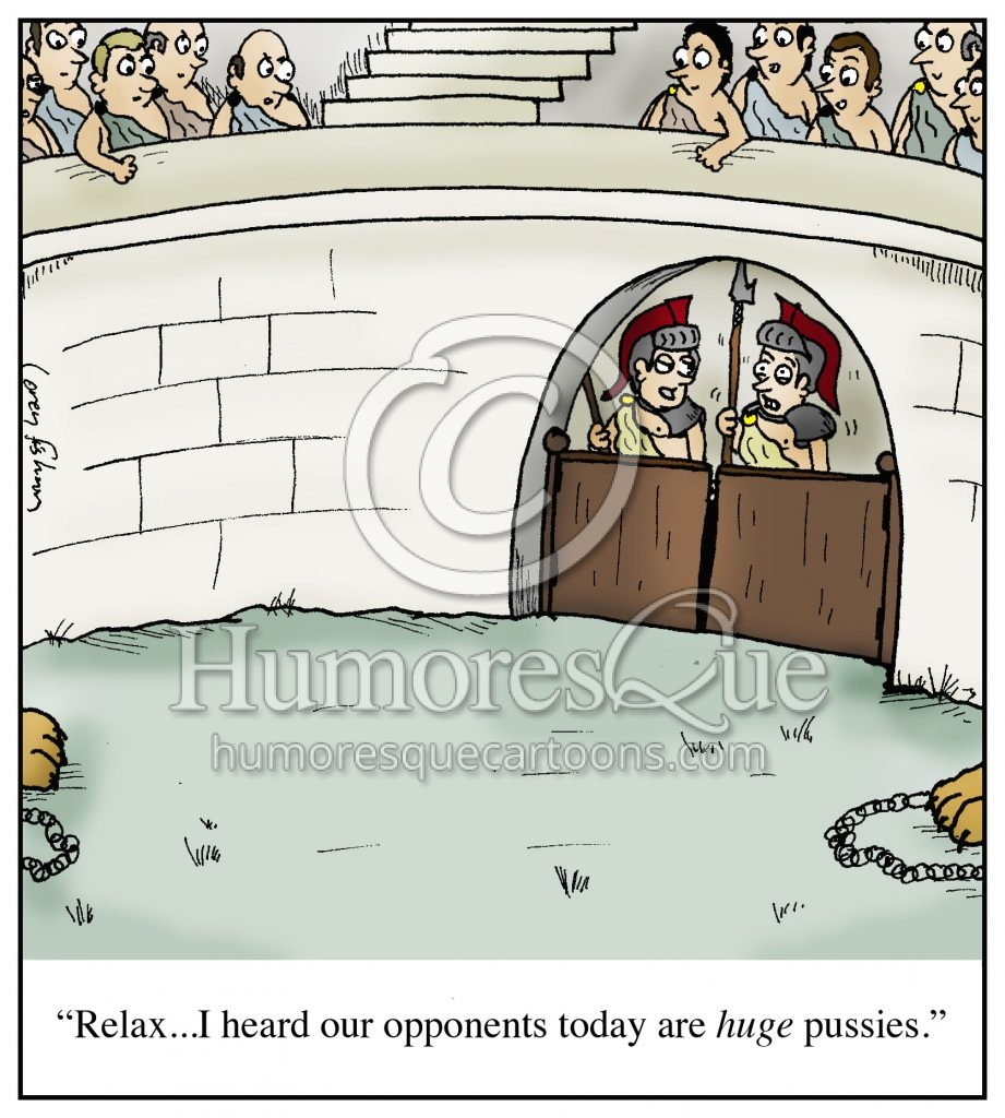 huge pussies ancient rome gladiator cartoon