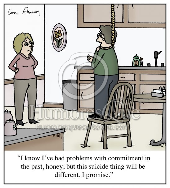 committing to suicide relationship cartoon