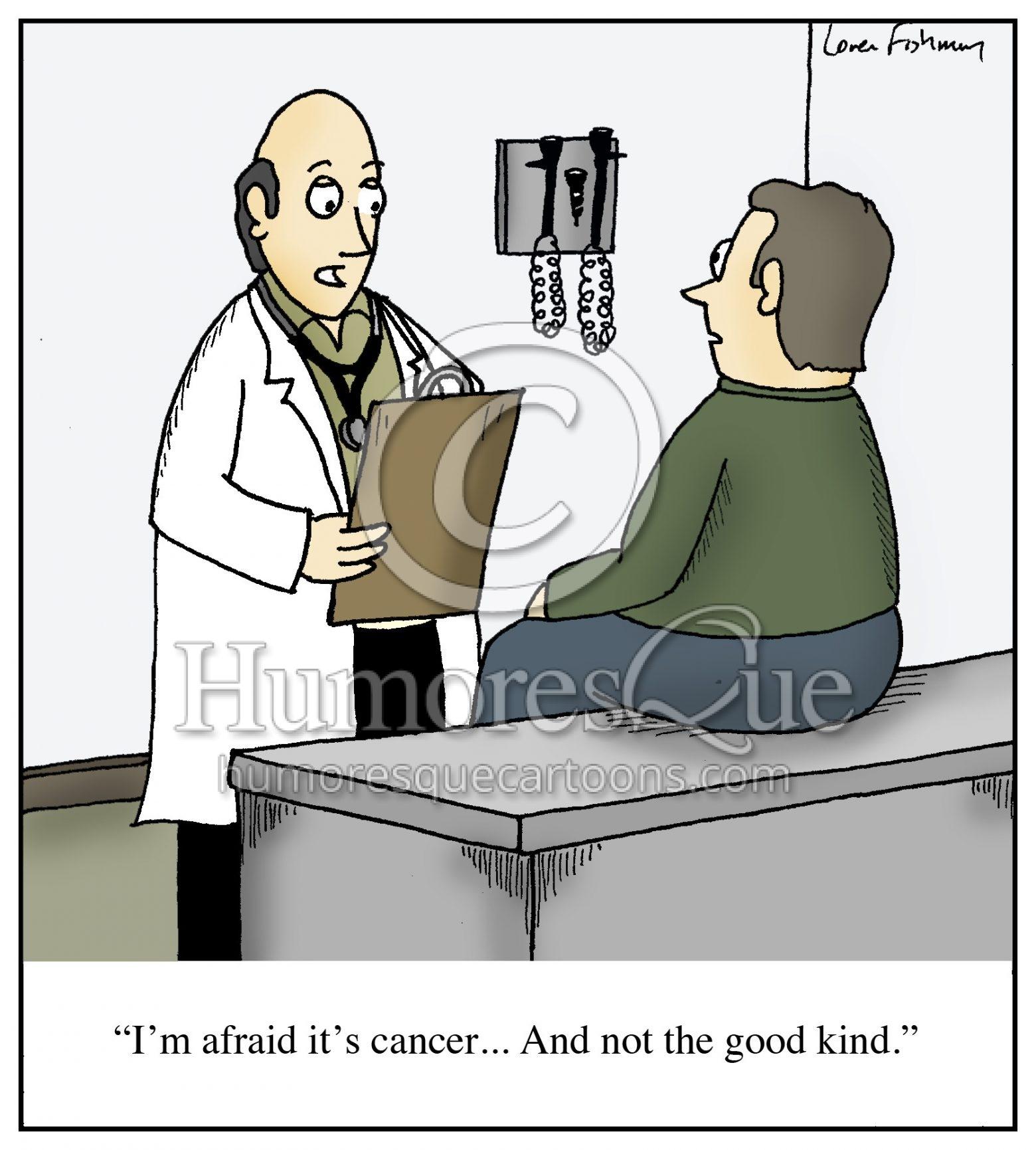 good kind of cancer oncology cartoon