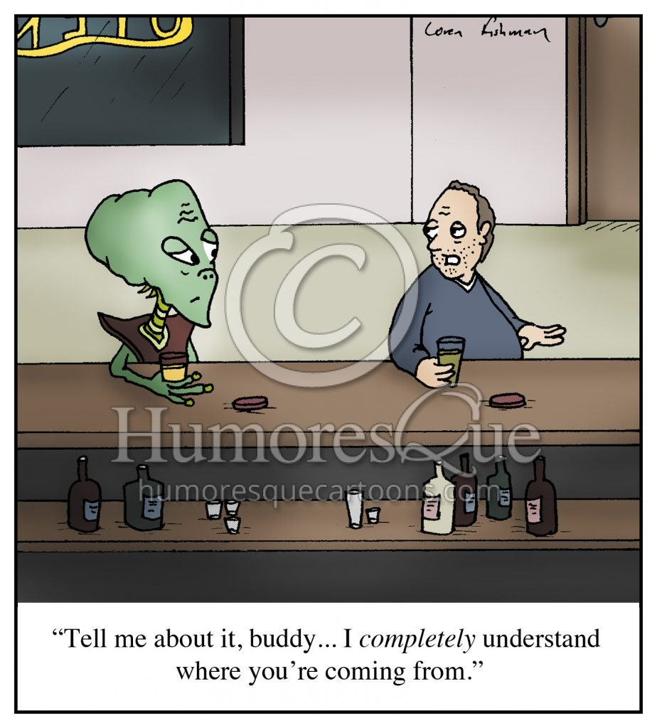 understanding alien cartoon