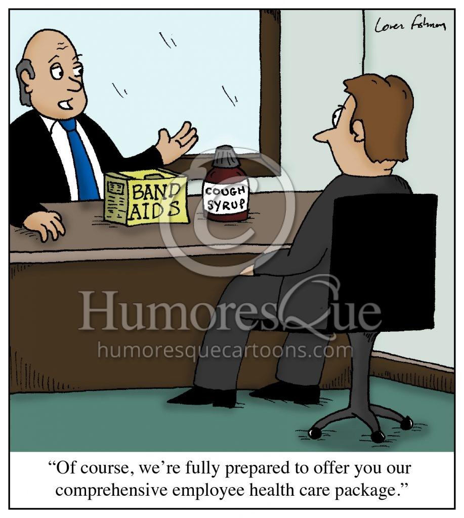 employer health care cartoon