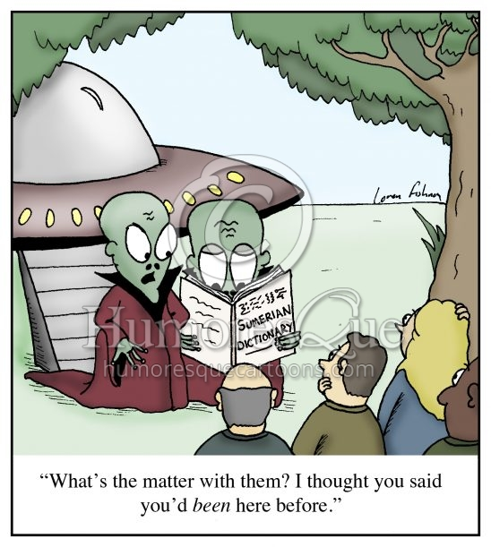 ancient aliens cartoon