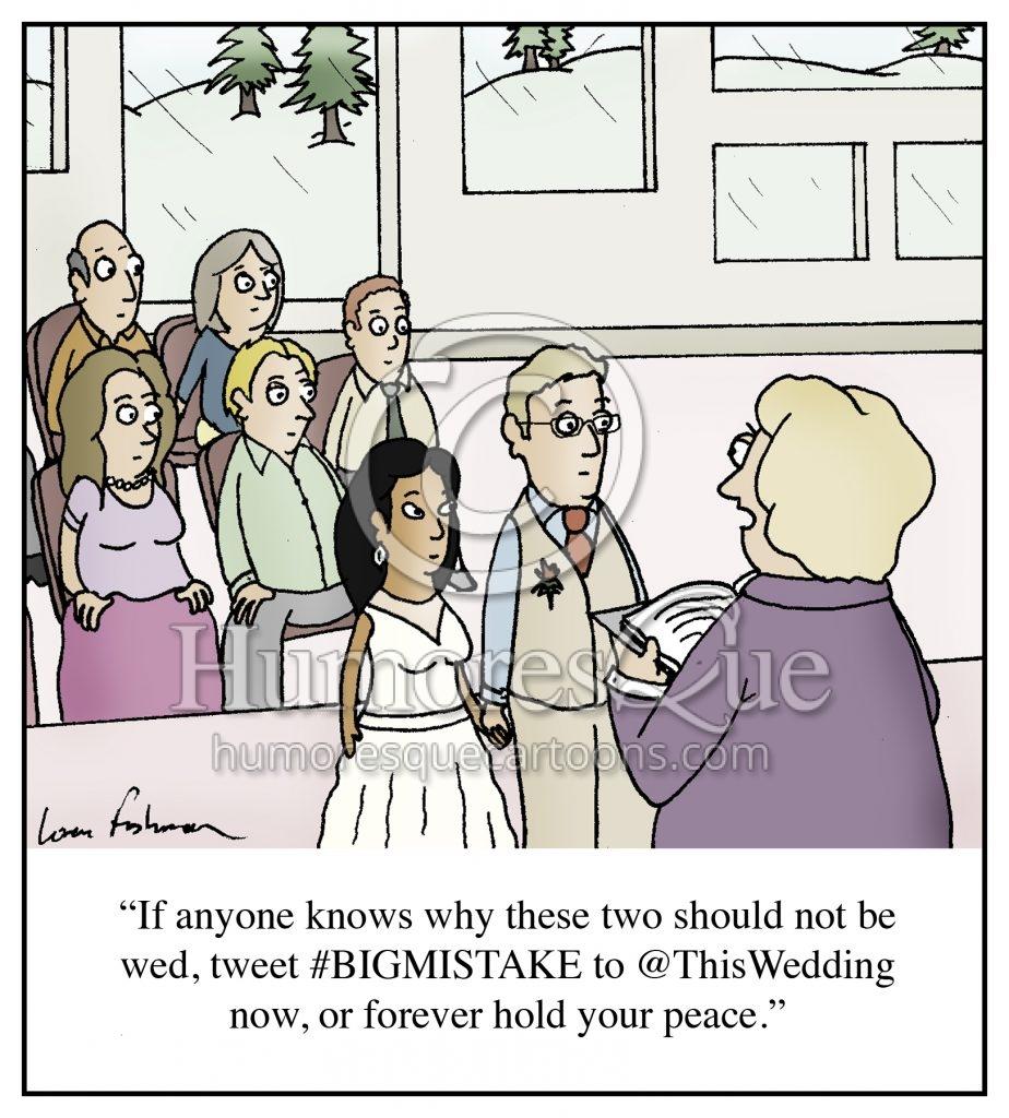 wedding vows twitter cartoon