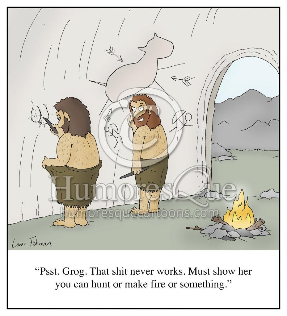 funny cave man dick pic cartoon dating sext